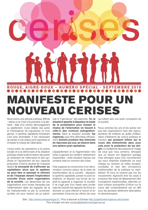 Cerises, la coopérative-Manifeste